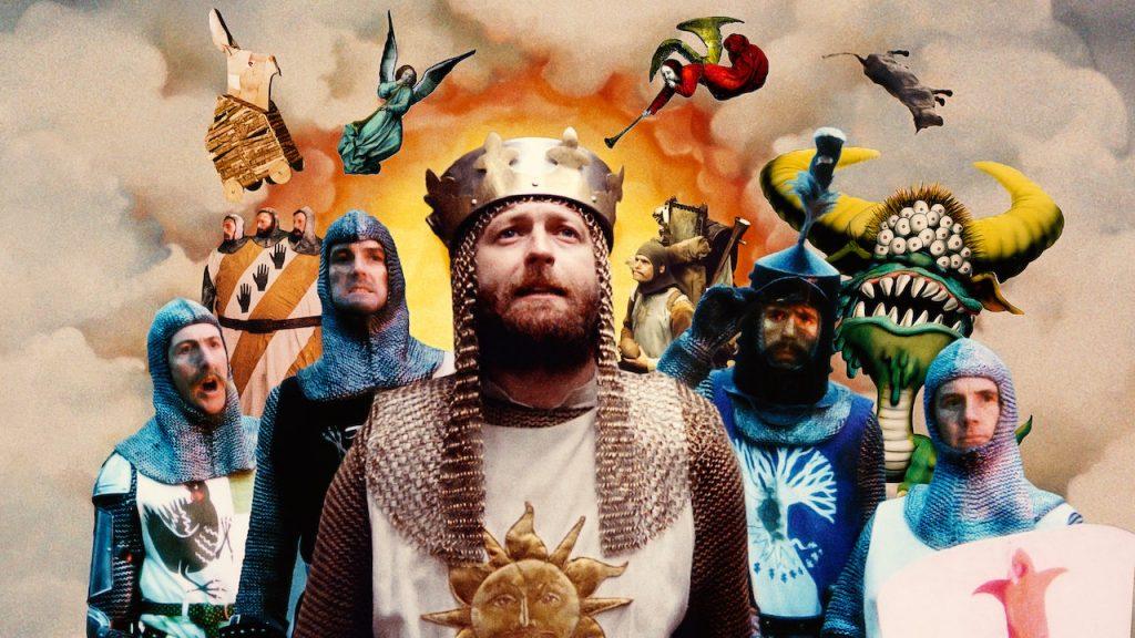 หนังตลก Monty Python and the Holy Grail (1975), มอนตี้ ไพธอน ป่วนจอกศักดิ์สิทธิ์