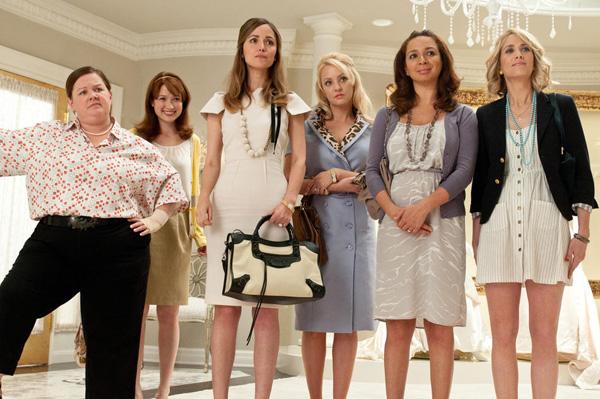 หนังคอมเมดี้ Bridesmaids (2011) แก๊งค์เพื่อนเจ้าสาว แสบรั่วตัวแม่